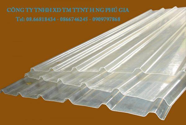 Cty sản xuất tôn nhựa lấy sáng