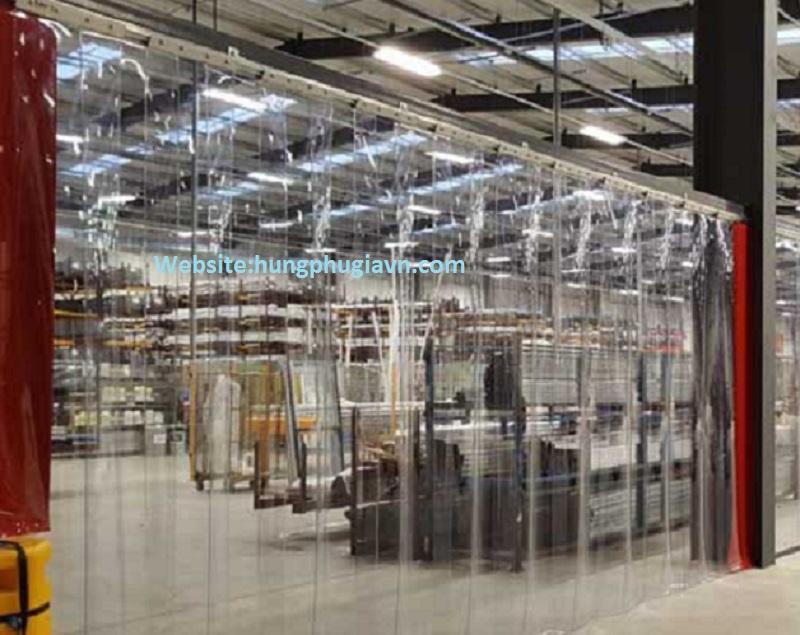 Vách ngăn màng nhựa pvc cho nhà xưởng sản xuất