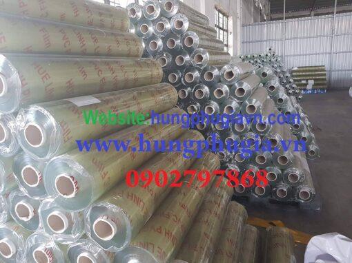 Bảng báo giá cuộn Màng nhựa PVC trong suốt giá rẻ tại Tp.HCM