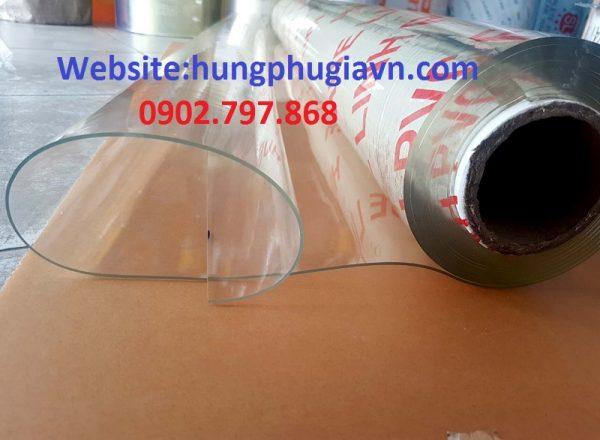 Bảng giá màng nhựa PVC trong suốt giá rẻ tại Tp.HCM