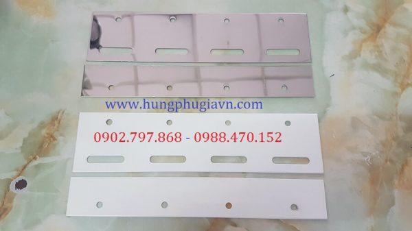 Pát treo Rèm nhựa PVC Inox và Sắt sơn tĩnh điện