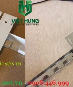Phụ kiện rèm nhựa pvc inox 304 và sắt sơn tĩnh điện