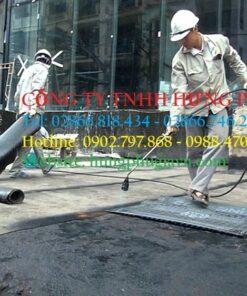 Màng chống thấm Hàn Quốc cho sàn bê tông dạng khò nóng