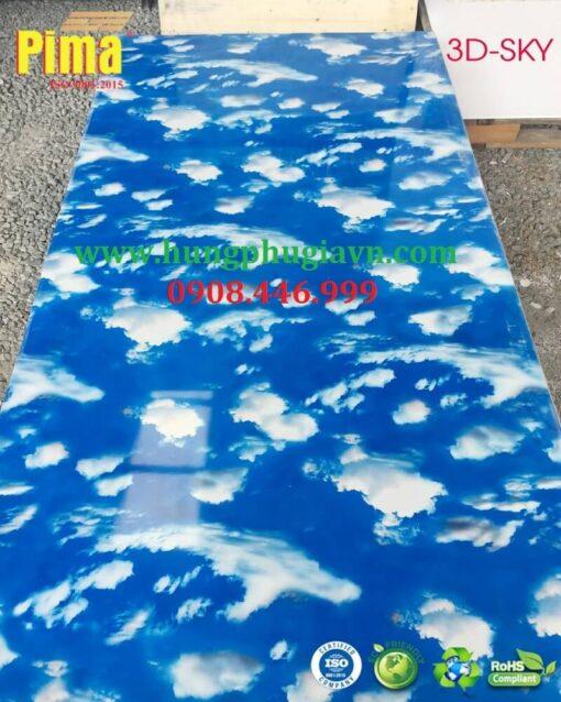 Tấm nhựa vân đá pvc 3D-sky