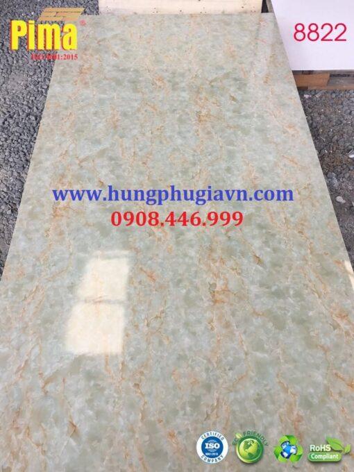 Tấm ván nhựa vân đá ốp tường pvc 8822