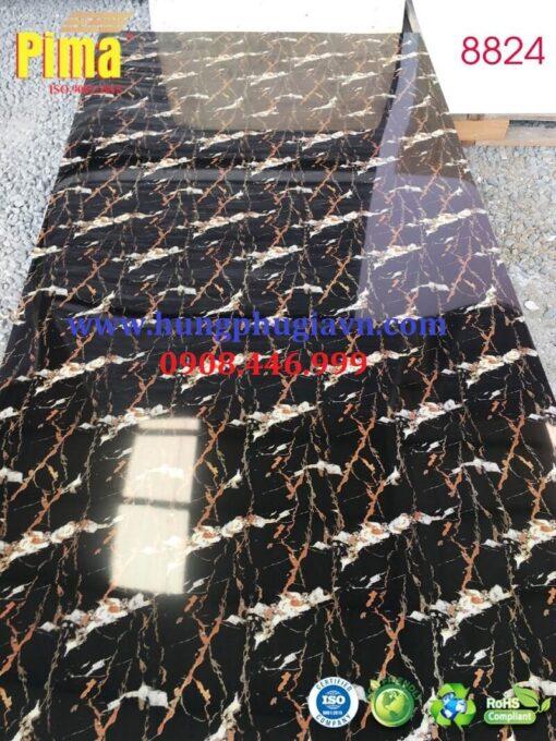 Tấm ván nhựa vân đá ốp tường pvc 8824
