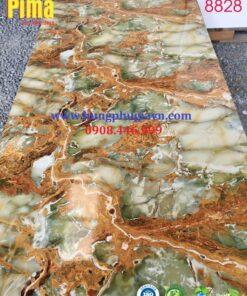 Tấm ván nhựa vân đá ốp tường pvc 8828