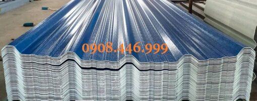 Tôn nhựa không lấy sáng lợp mái Asa PVC