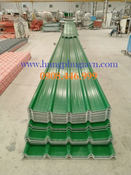 Nhà máy sản xuất tôn nhựa pvc chống ăn mòn hóa chất