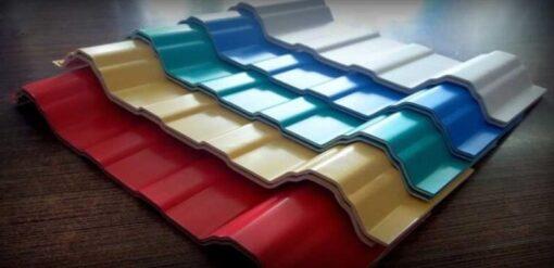 Mẫu tôn nhựa PVC Asa