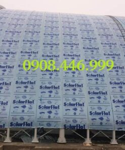 Tấm lợp nhựa lấy sáng Polycarbonate Đặc Indonesia màu xanh