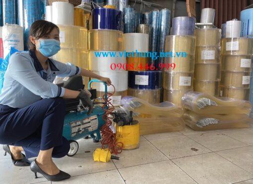 Rèm nhựa PVC được gia công sẵn tại Việt Hưng