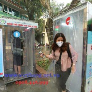 Rèm Nhựa PVC Làm Buồng Khử Khuẩn Toàn Thân