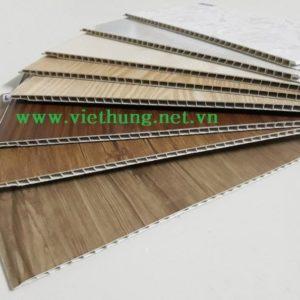 Hình ảnh Tấm ván nhựa ốp tường vân gỗ PVC