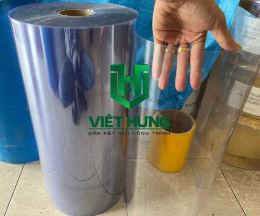 Cuộn màng nhựa pvc trong suốt cứng định hình