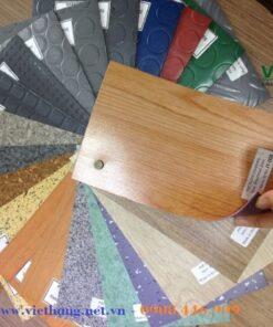 Bảng màu Simili trải sàn chống cháy cao cấp 1.2mm