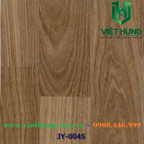 Simili lót sàn chống cháy vân gỗ dày 1.8mm Jy 004s