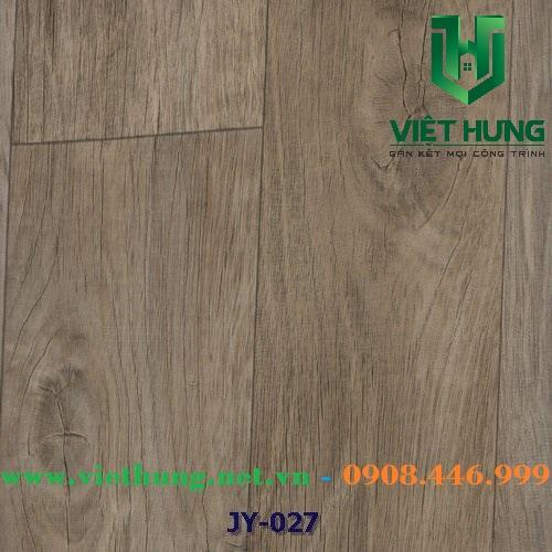 Simili lót sàn chống cháy vân gỗ dày 1.8mm Jy 027
