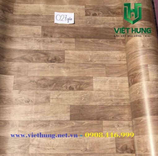 Bảng màu simili trải sàn chống cháy JY027 gân
