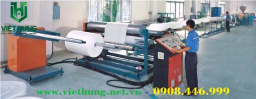 Dây chuyền sản xuất cuộn mút xốp PE Foam tại Việt Hưng