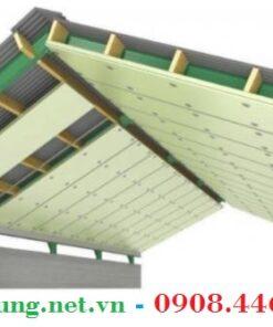 Tấm gạch mát chống nóng dưới mái tôn