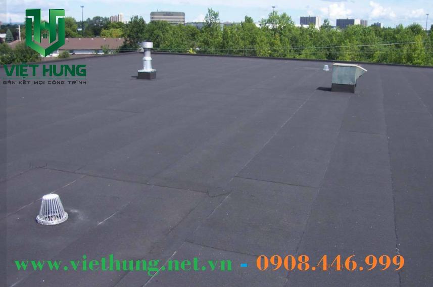 Tấm gachmat chống nóng cho mái sân thượng