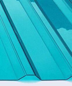 Tôn polycarbonate màu xanh biển