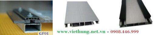 Phụ kiện tấm Polycarbonate Profile ron cao su F01