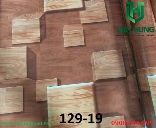 Mẫu màu simili lót sàn mỏng 0.5mm giả vân gỗ 129-19
