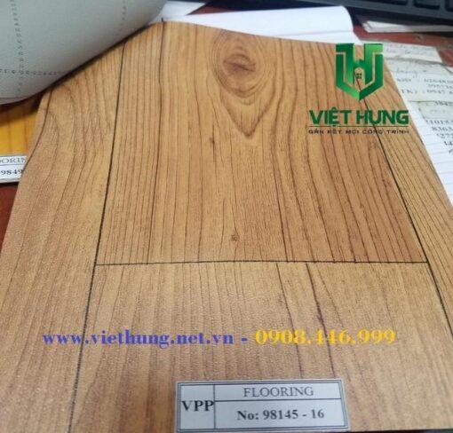 Mẫu màu simili lót sàn mỏng 0.5mm giả vân gỗ 98145-16