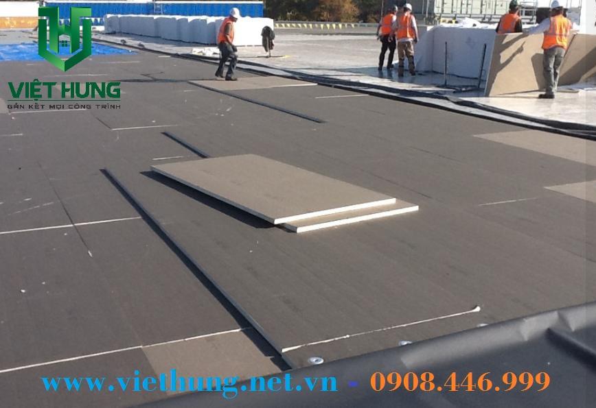 Tấm gạch mát chống nóng cho sàn, sân thượng