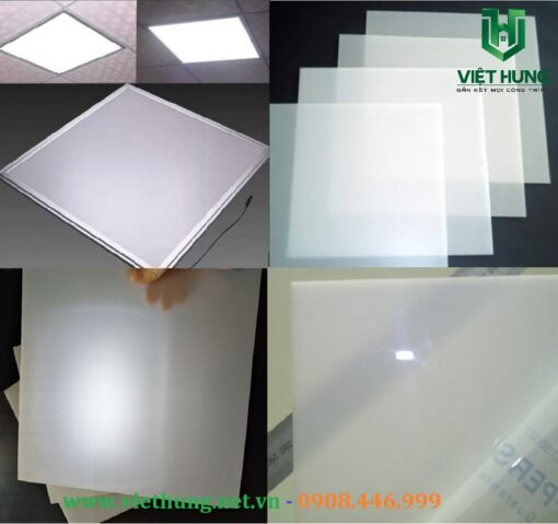 Tấm tản sáng đèn Led Polycarbonate Đặc Hàn Quốc