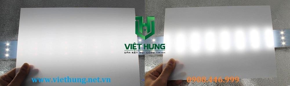 Hình ảnh tấm nhựa tản sáng Mica và Polycarbonate giá rẻ tốt nhất Tp.HCM