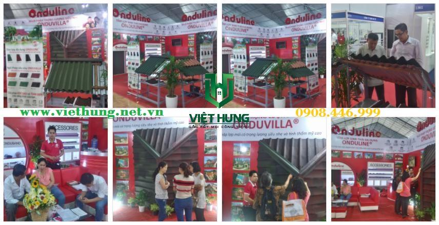 Triển lãm Quốc Tế Vietbuild Ngói Onduvilla và Onduline