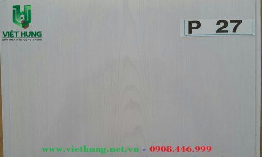 Tấm trần nhựa dài bản 25cm P27