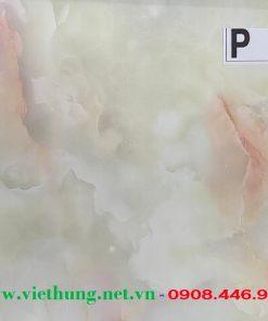 Tấm la phông trần nhựa dài bản 25cm màu vân đá P18
