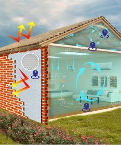 Cách nhiệt Cát Tường chống nóng cực tốt