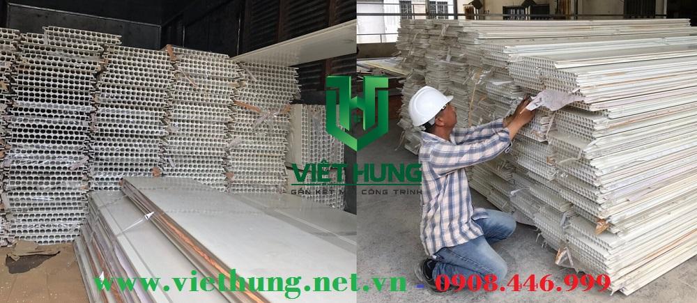 Công ty sản xuất tấm ván nhựa lót sàn gác chịu lực