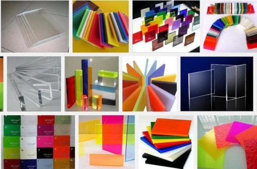 Bảng giá bảng màu các loại tấm mica acrylic tại HCM